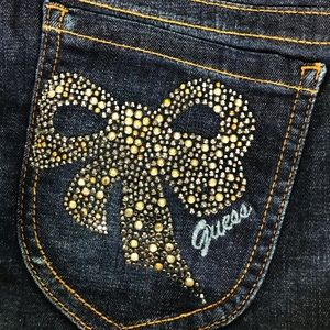 Embellished Skinny Jeans Guess